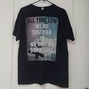 Tops - All time low tshirt